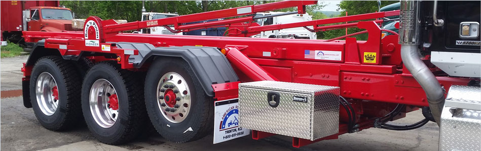 Beam Truck specializes in covering system installation for waste hauling trucks