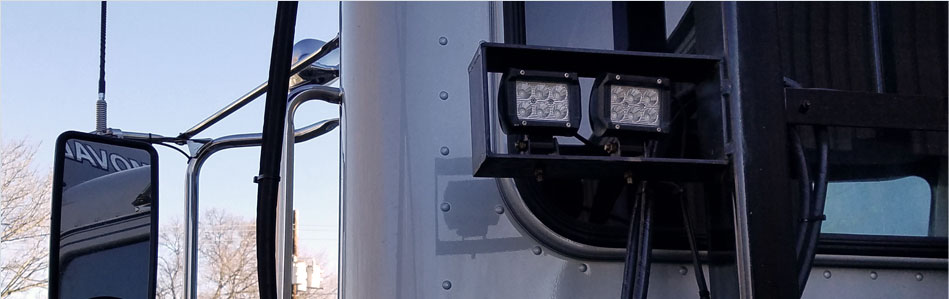 Custom lighting installation for better visibility and safety